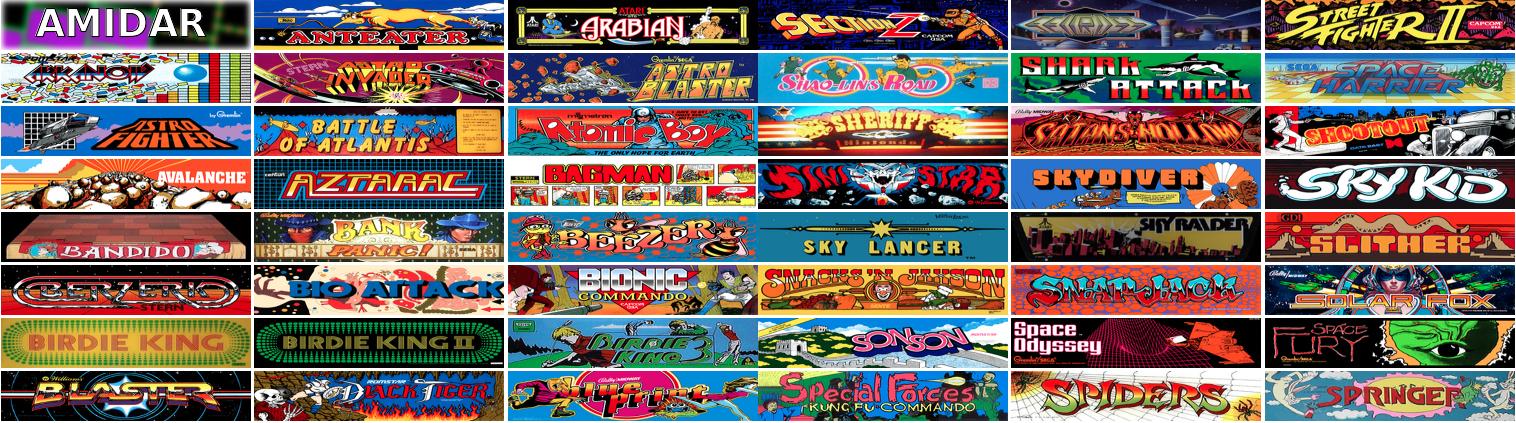 900 jeux vidéo d'arcade gratuit Archive.org