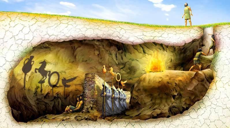 Platon la caverne