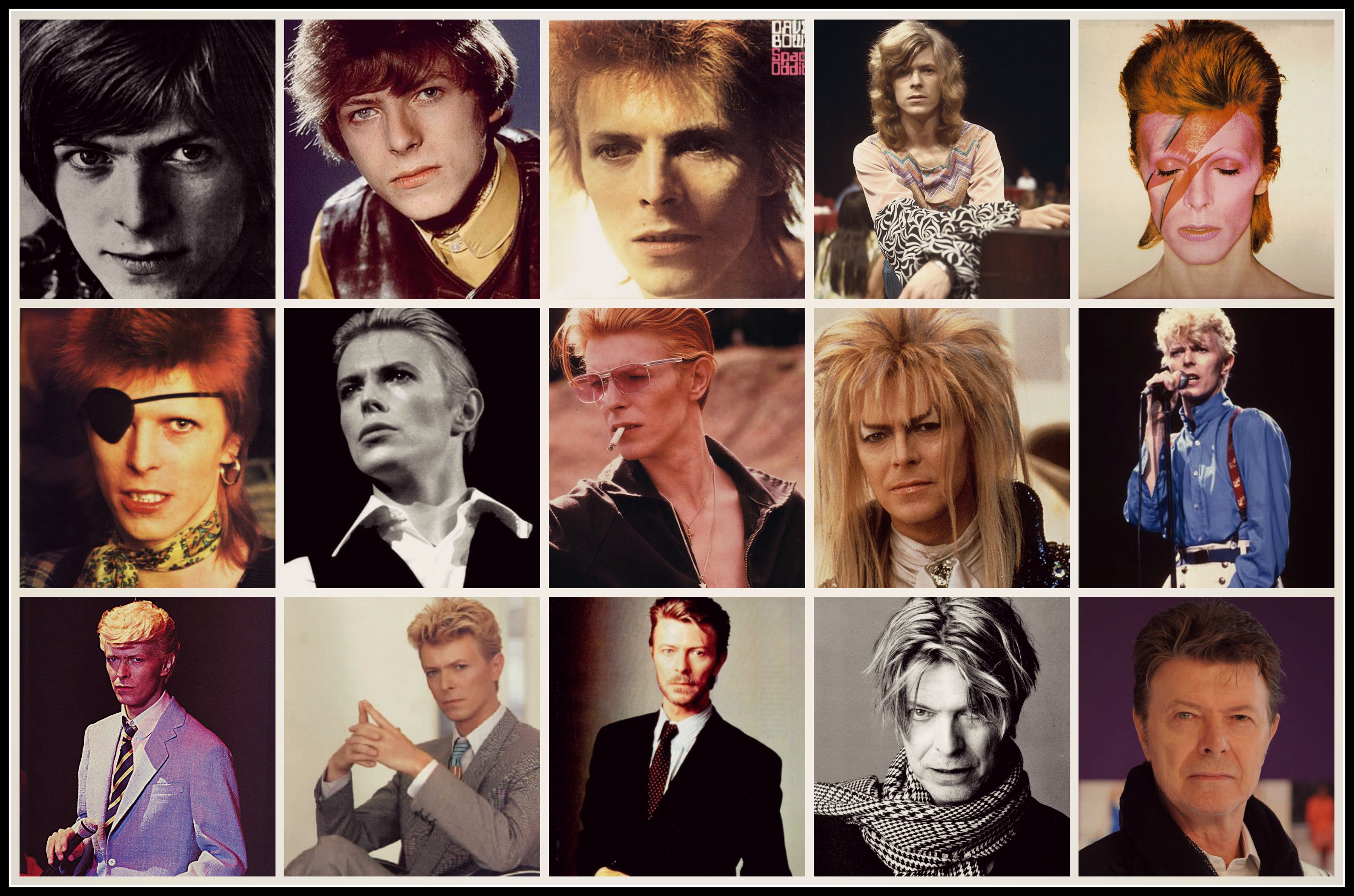 david bowie rock legend
