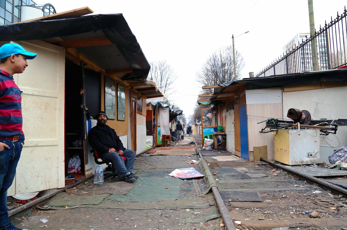 Bidonvilles roms