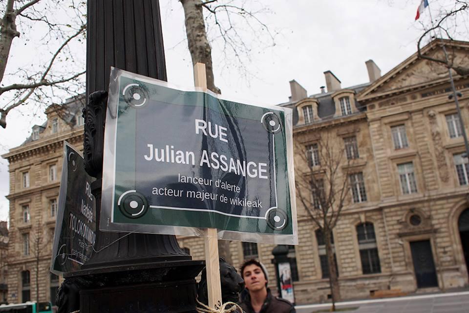 hors pistes julien assange