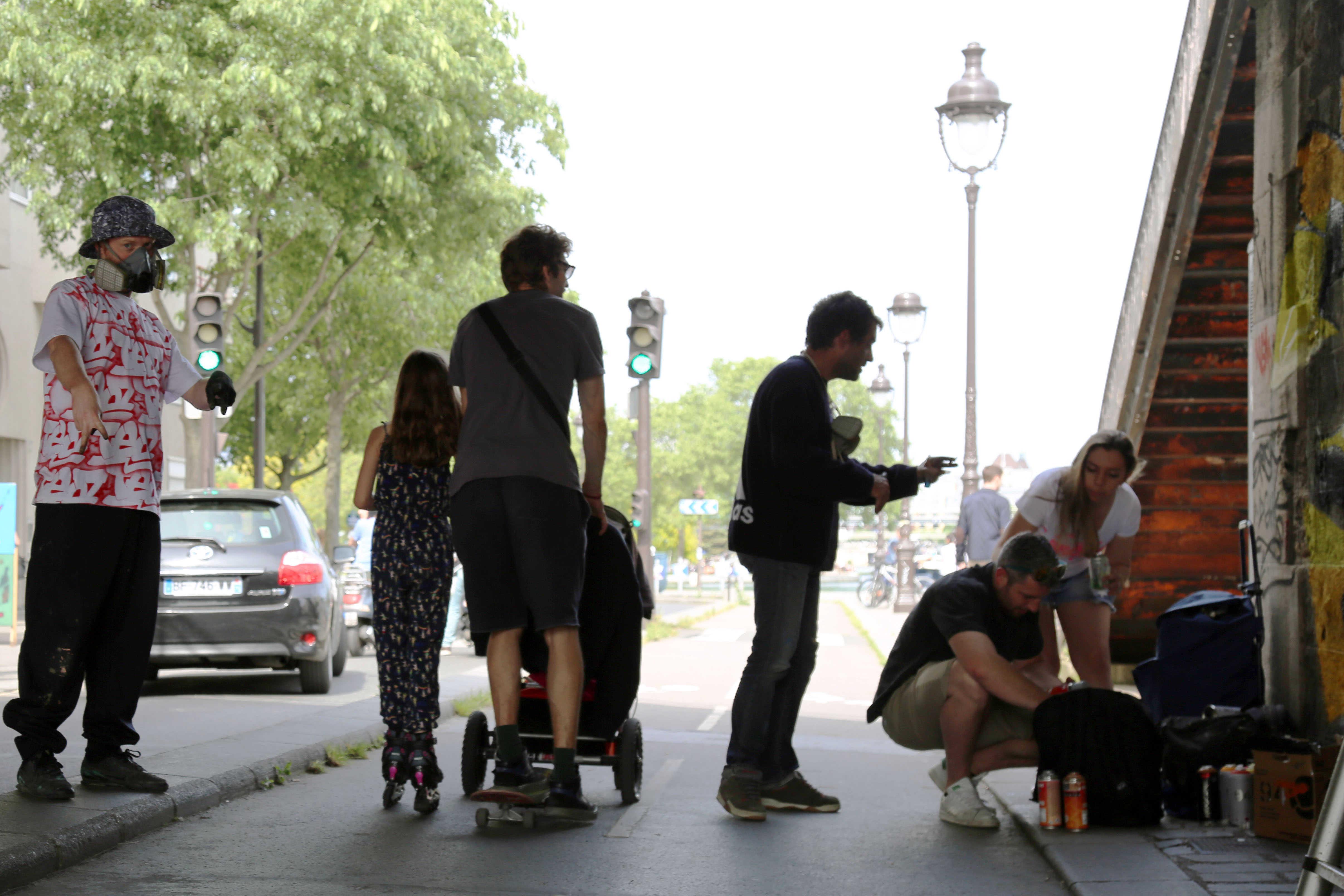 le 1er festival parisien dédié au street-art et aux cultures urbaines : le FestiWall.