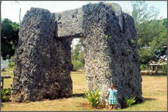 île de Tongatapu, Tonga.