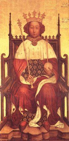 Richard II d'Angleterre, 1390, Abbeye Westminster